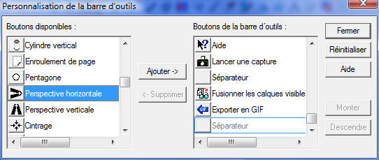 Personnaliser la barre d 39 outil psp for Fenetre windows 7 outils